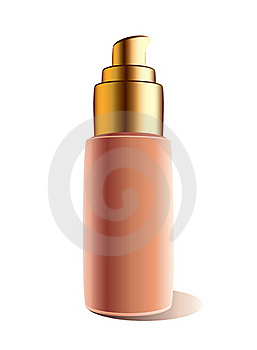 Cosmetic Container. Royalty Free Stock Image - Image: 17323166