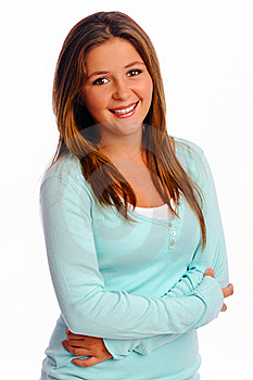 Teenager In Studio Stock Photos - Image: 17323413
