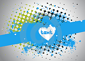 Stain Text Frame Stock Images - Image: 17324964