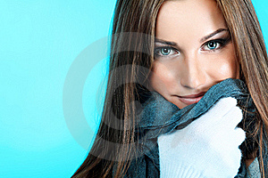 Scarf Royalty Free Stock Photos - Image: 17325898