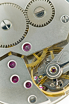 Clockworks With Gears Stock Photo - Image: 17326380