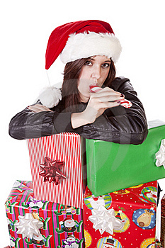Presents Stick Royalty Free Stock Image - Image: 17326406