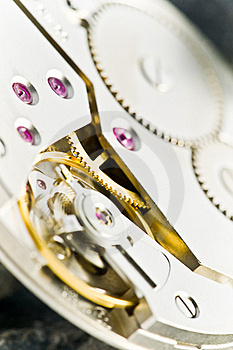 Clockworks With Gears Royalty Free Stock Photos - Image: 17326418