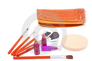 Make-up Tools Royalty Free Stock Images - Image: 17326429