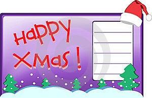 Xmas Postcard Stock Images - Image: 17327324