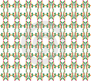 Seamless Floral Pattern Illustration Background Stock Photos - Image: 17327473