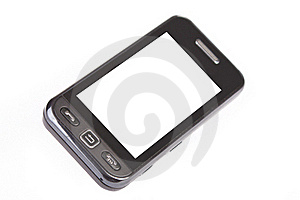 Touchscreen Mobile Phone Royalty Free Stock Photo - Image: 17327615
