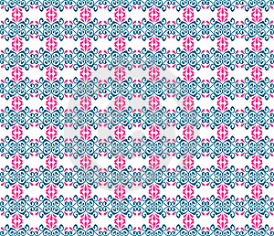 Seamless Floral Pattern Illustration Background Stock Photography - Image: 17328222