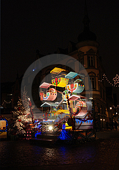 Christmas In Alsace Stock Photos - Image: 17329103