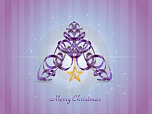 Abstract Christmas Card Royalty Free Stock Photography - Image: 17330267