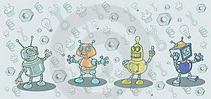 Robots Stock Photo - Image: 17331120