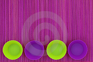 Baking Cups Stock Image - Image: 17332071