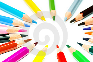 Crayon Circle Royalty Free Stock Image - Image: 17334306