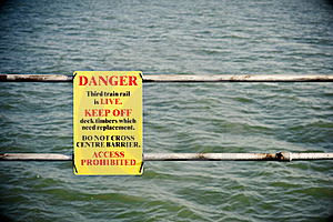 Danger Sign Royalty Free Stock Image - Image: 17334616