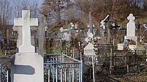 Orthodox Graveyard Stock Image - Image: 17337031