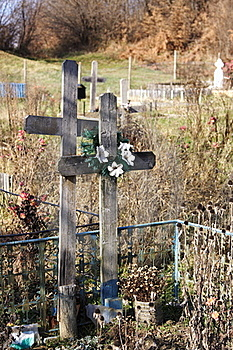 Orthodoxer Friedhof Stockfotografie - Bild: 17337092