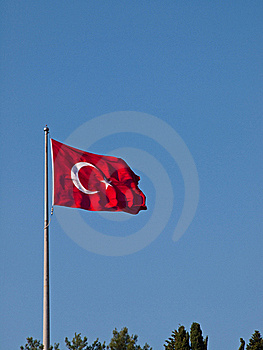 Turkish Flag Stock Photos - Image: 17337293