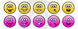 Personage Emotions Royalty Free Stock Photography - Image: 17338617
