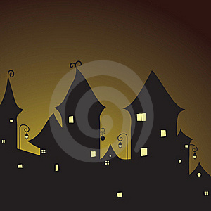 Fairy City Royalty Free Stock Photography - Image: 17339877