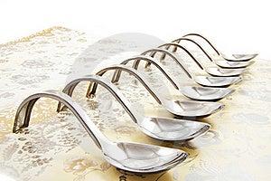 Amuse Spoons Stock Image - Image: 17340081
