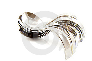 Amuse Spoons Royalty Free Stock Photography - Image: 17340087