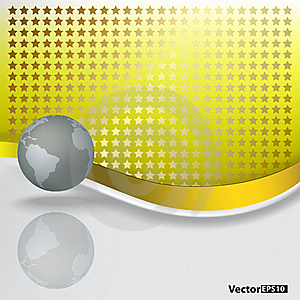Abstract Background With Grey Globe Stock Photo - Image: 17342490