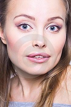 изумленная женщина Стоковые Изображения - изображение: 17345714