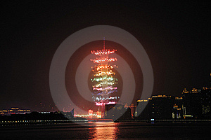 Fireworks Of Asian Games Royalty Free Stock Image - Image: 17351166