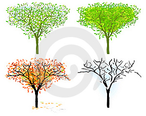 Tree In For Season Stock Images - Image: 17351474