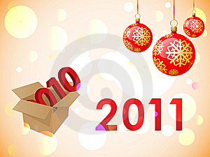 2011 New Years Card Stock Photo - Image: 17351600