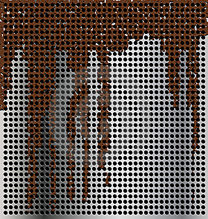 Metal Background With Streaks Stock Images - Image: 17353574