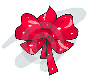 Red Bow Stock Photo - Image: 17353910