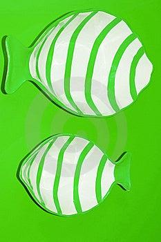Green Fish Royalty Free Stock Photos - Image: 17354198