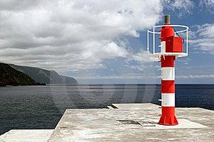 Beacon On Coast Royalty Free Stock Photos - Image: 17354538