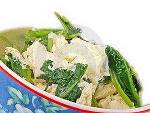 Tofu Soup Royalty Free Stock Images - Image: 17356749
