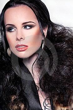 Woman Portrait Stock Photos - Image: 17357323