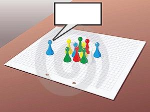 Teamwork Illustration Stock Images - Image: 17358474