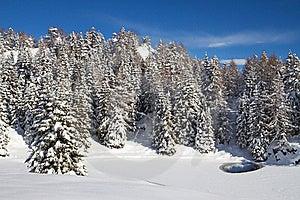 Icy Lake Royalty Free Stock Photos - Image: 17365438