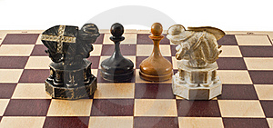 Chess Royalty Free Stock Images - Image: 17365469