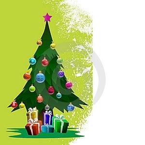 Christmas Pine Tree Royalty Free Stock Photos - Image: 17367038