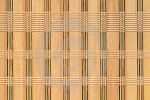 Woven Bamboo Background Royalty Free Stock Photos - Image: 17367688