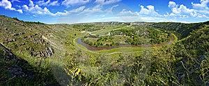Beautiful Panorama Of Moldavian Landscape Stock Photo - Image: 17369160