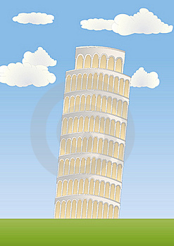 Leaning Tower In Pisa Stock Images - Image: 17374884