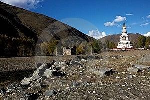 Tibetan Stupa Stock Photography - Image: 17374902