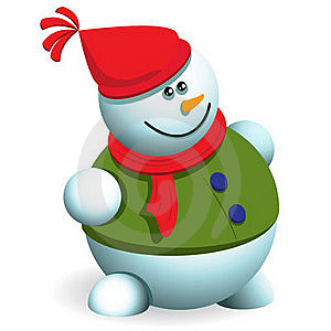 Snowman Royalty Free Stock Image - Image: 17377236