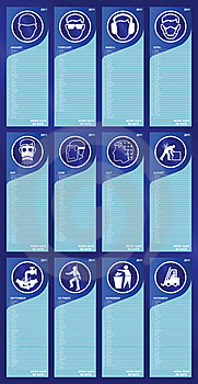 2011 Health And Safety Calendar Royalty Free Stock Photos - Image: 17379928