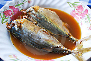 Mackerel Boiled Soup Asian Style Royalty Free Stock Photography - Image: 17379937