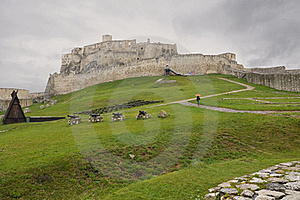Old Castle Spiss Hrad In Slovakia Royalty Free Stock Photo - Image: 17383605