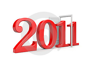 New Year Come Royalty Free Stock Photos - Image: 17384018