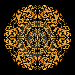 Vintage Floral Pattern Stock Image - Image: 17384171